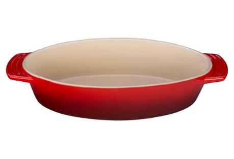 1.75 Qt Oval Dish, Cherry