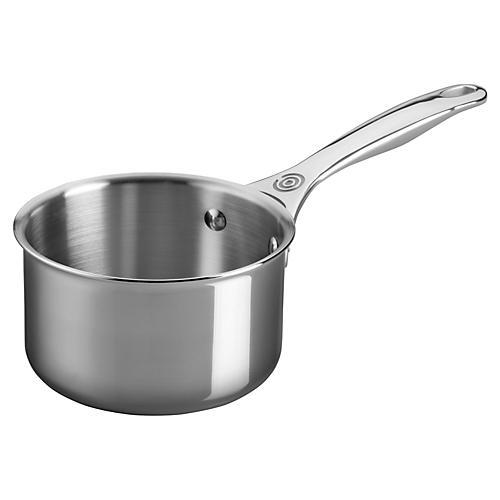1.3 Qt Open Saucepan, Silver