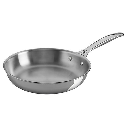 """9.5"""" Fry Pan, Silver"""