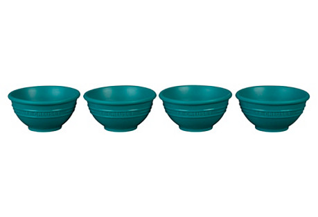 S/4 Pinch Bowls, Caribbean