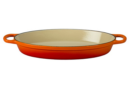 2.25 Qt Signature Oval Baker, Flame