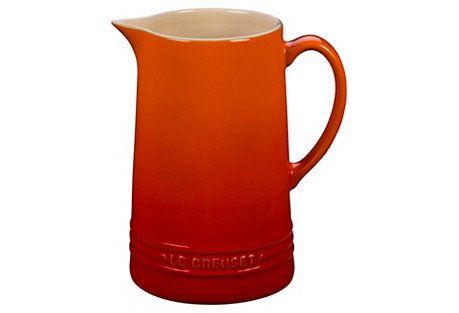 1.6 Qt Pitcher, Flame