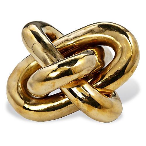 """6"""" Wynn Knot, Brass"""