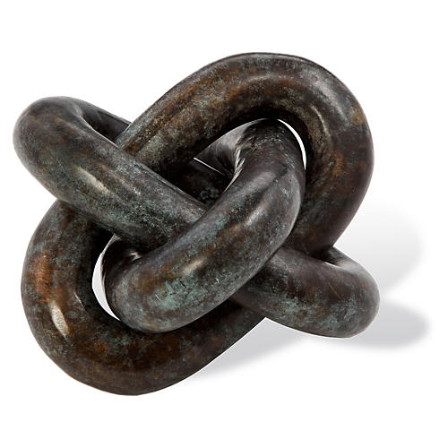"6"" Wynn Knot, Verdigris"