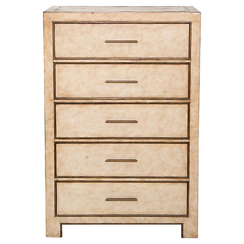 Carlton Tall Dresser, Cream