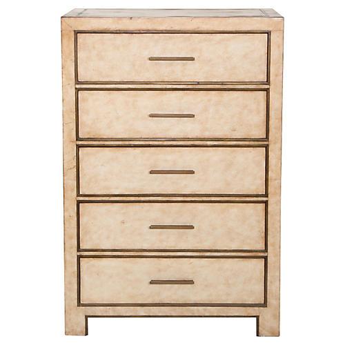 Carlton Tall Dresser, Cream