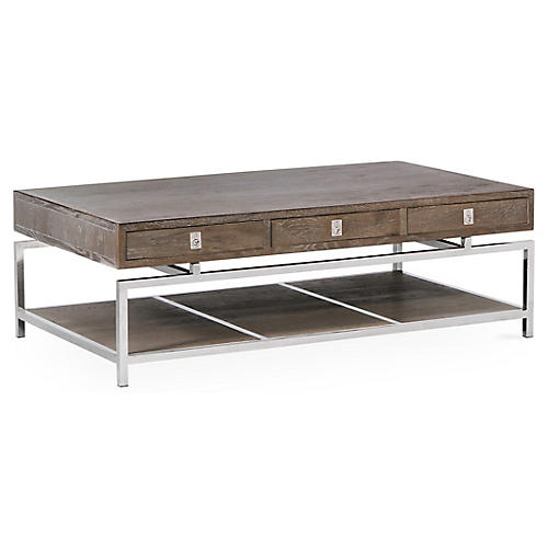 Kensley Coffee Table, Graywash