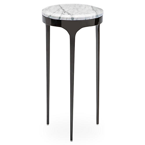 "Camila 21"" Side Table, White"