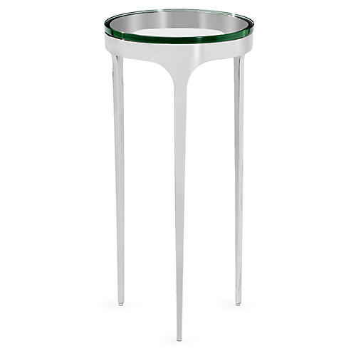 Camilla Side Table, Clear