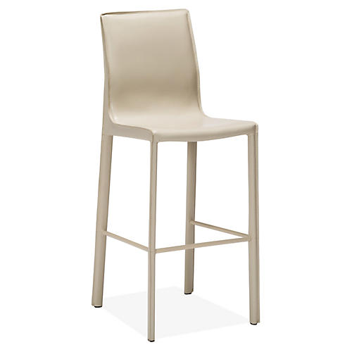 Jada Barstool, Sand Leather