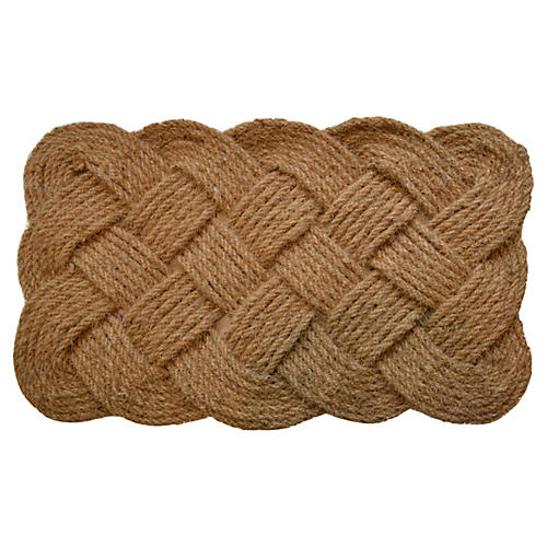 Rope Outdoor Mat, Brown