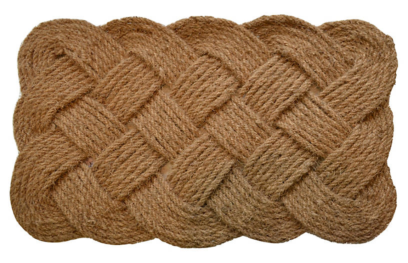 Rope Outdoor Mat - Brown