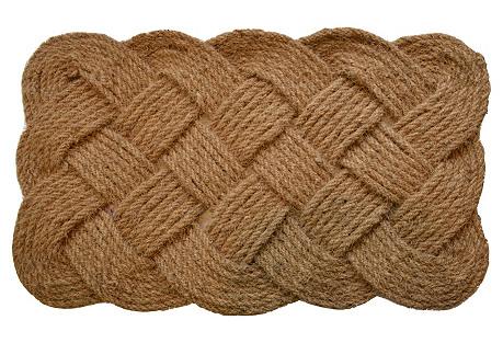 Rope Outdoor Mat, Brown