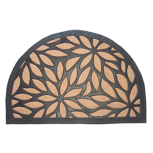 Tucana Outdoor Doormat, Black/Brown