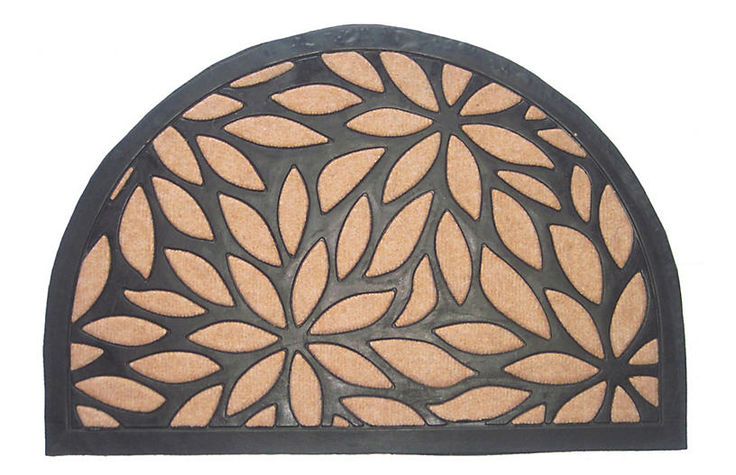 Tucana Outdoor Doormat - Black/Brown