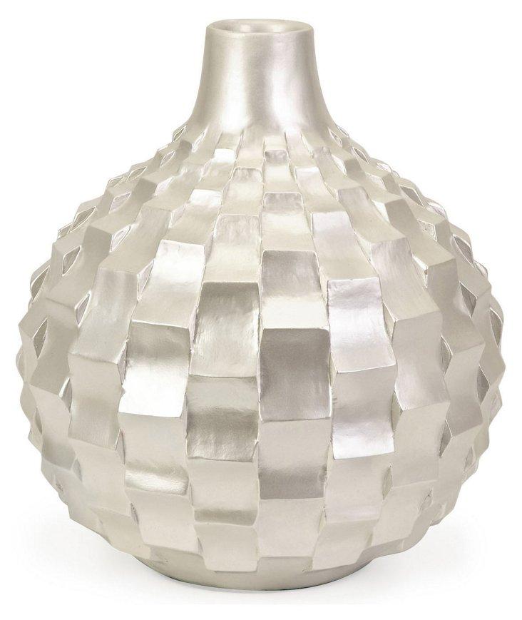 "13"" Helena Pearl Vase"