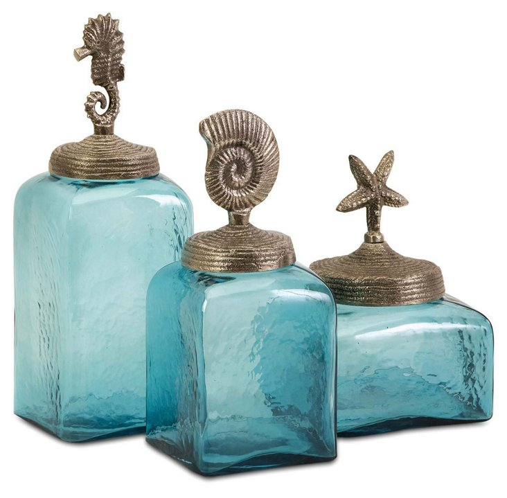 S/3 Sea Life Canisters
