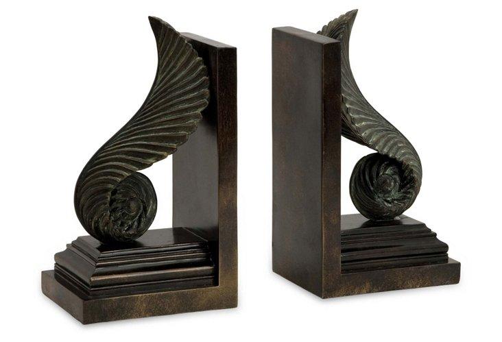 Pair of Van Eyck Bookends