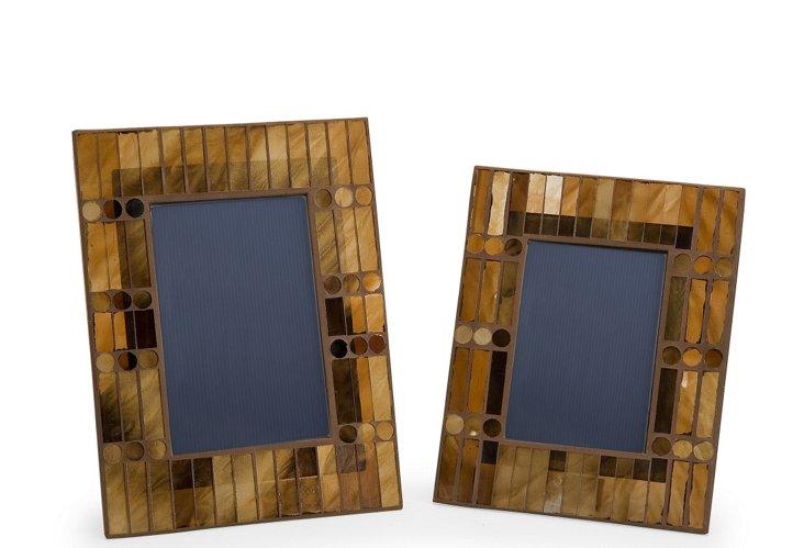 S/2 Chai Mosaic Frames