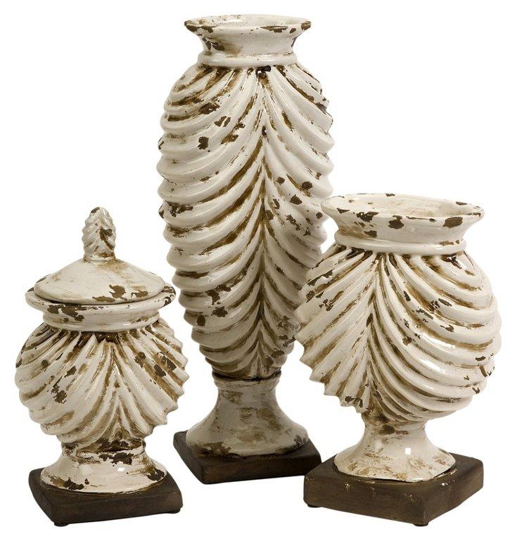 Asst. of 3 Walsh Vases