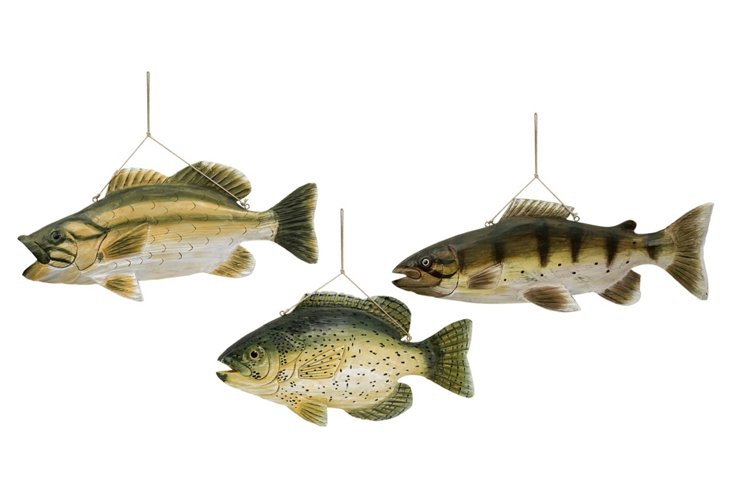S/3 Lakeshore Wall-Mount Fish