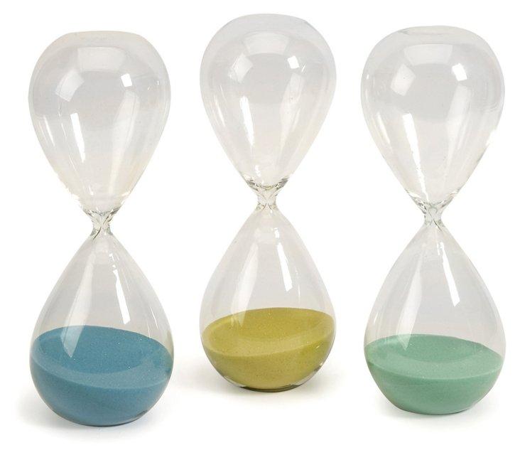 "Asst. of 3 12"" Paroles Hourglasses"