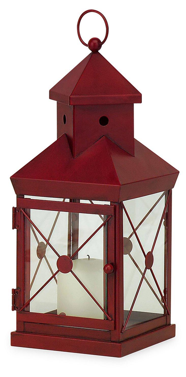 Red Cupola Lantern