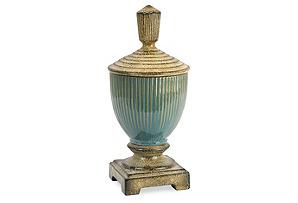 """15"""" Tavian Lidded Jar"""