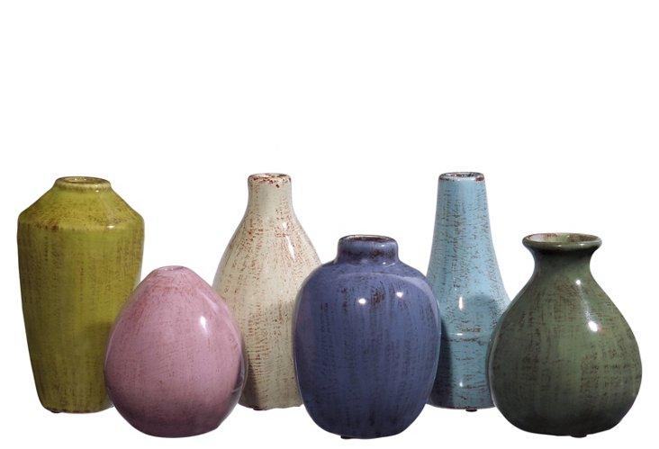 Asst. of 6 Mini Tuscany Vases