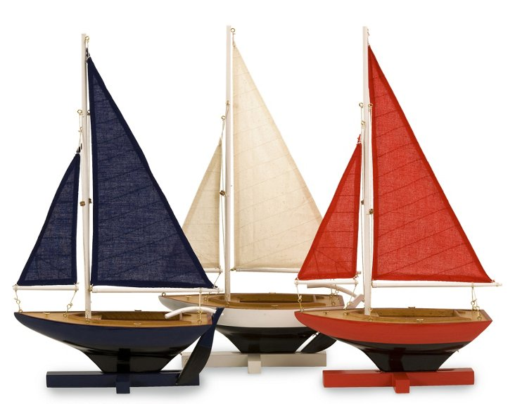 Asst. of 3 Forza Sailing Fleet, Multi