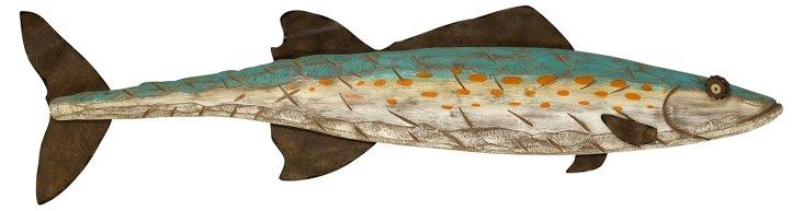"43"" Newton Wall Fish"