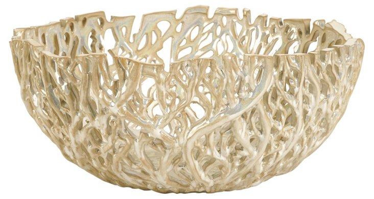 Vargas Cutwork Decorative Bowl