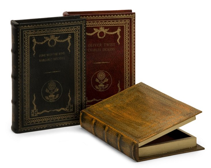 S/3 Classic Book Boxes