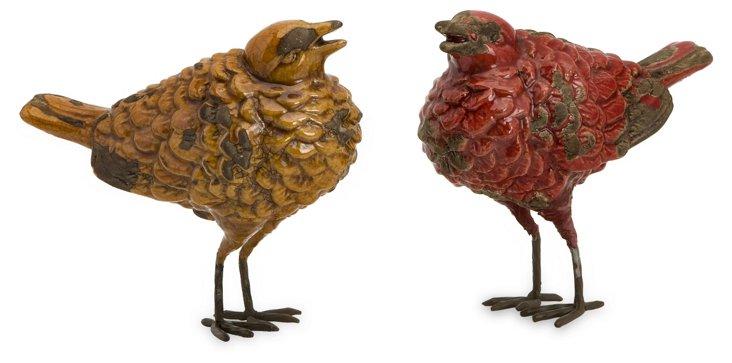 Tuscan Birds, Asst. of 2