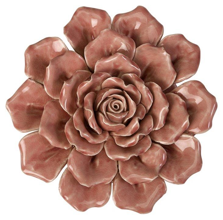 """9"""" Ceramic Wallflower"""