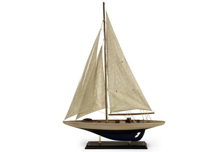 "31"" Colossal Sailing Vessel, Black"