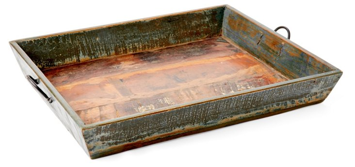 17x21 Distressed Tray
