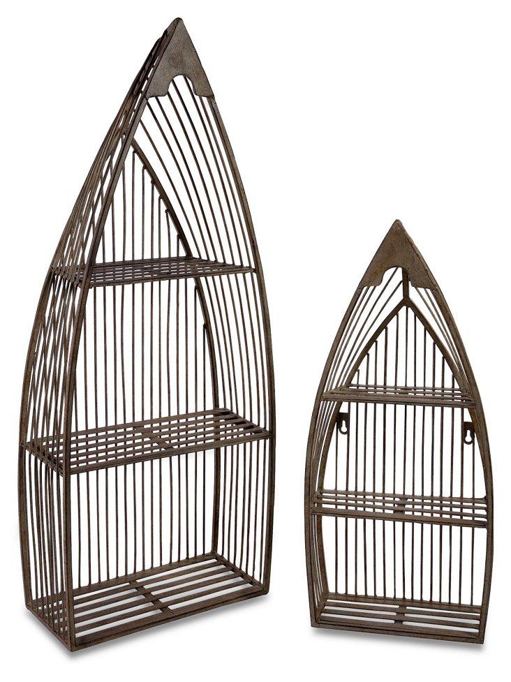 Nesting Boat Shelves, Asst. of 2
