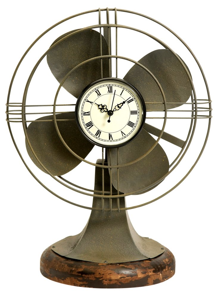 "18"" Thatcher Fan Clock"