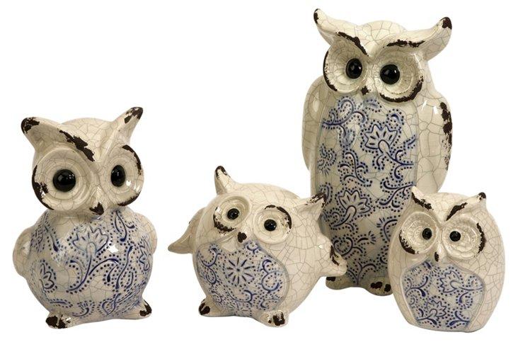 Fern Owls, Asst. of 4