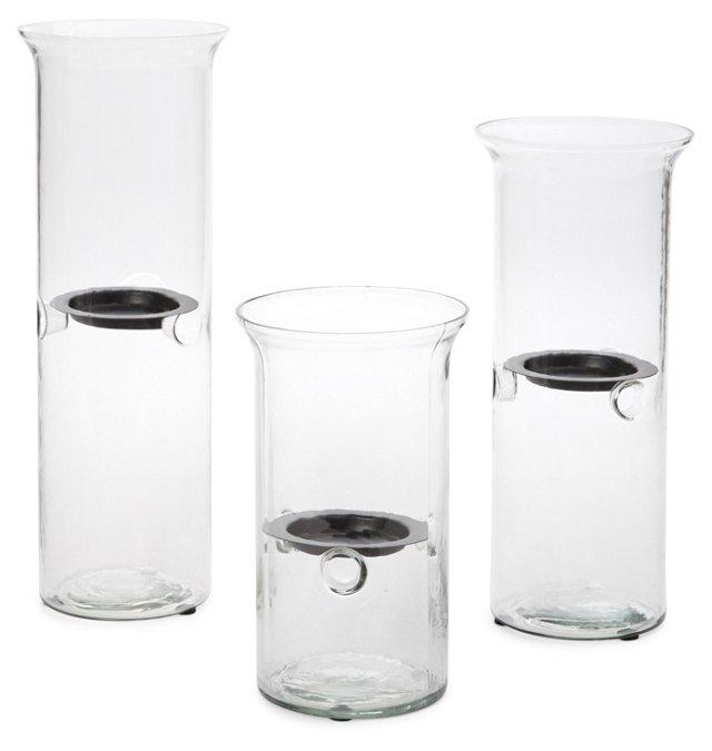 Asst. of 3 Floating Tea Light Holders