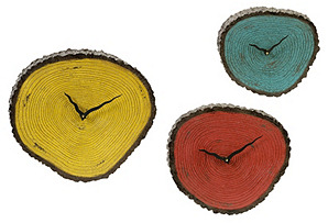 Morgan Wall Clocks, Asst. of 3