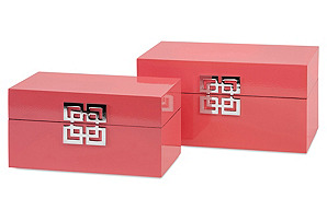 Asst. of 2 Danes Boxes, Pink