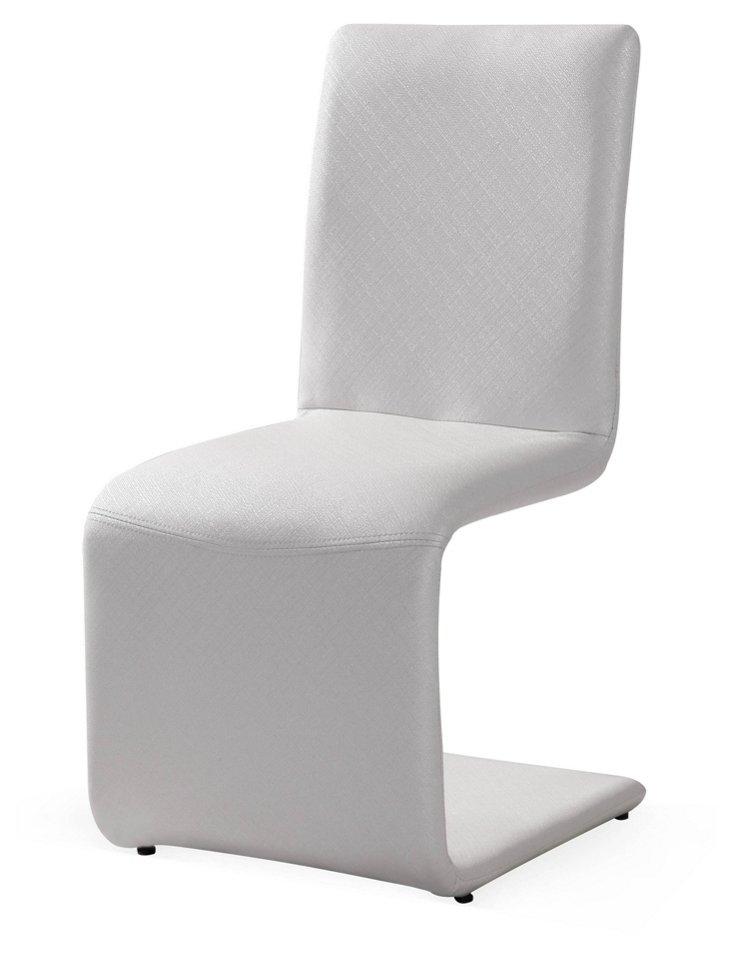 Belle Chair, White