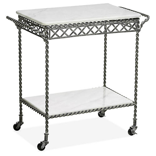 Westerly Bar Cart, Charcoal