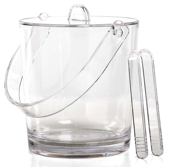 Capri Ice Bucket, Clear