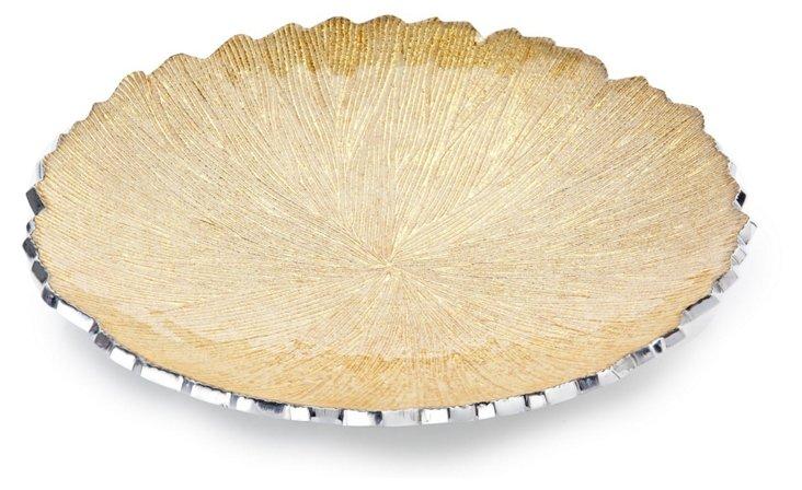 Gold Rivington Platter, Small