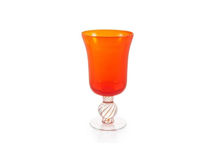 S/6 Portofino Red Goblets