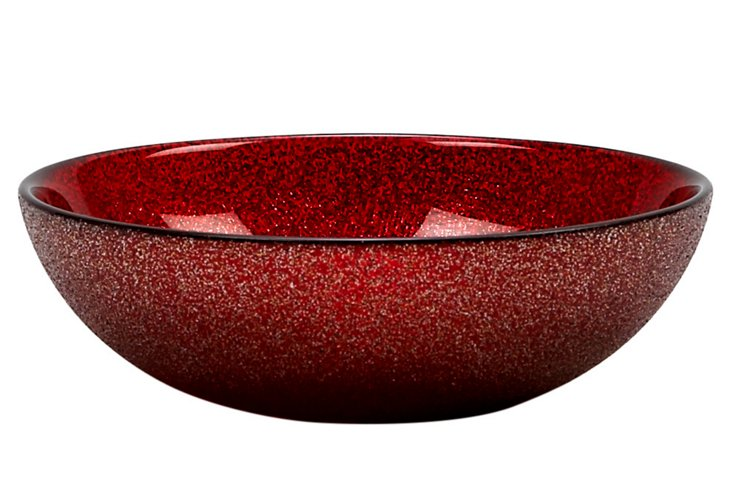 S/4 Paparazzi Bowls, Red