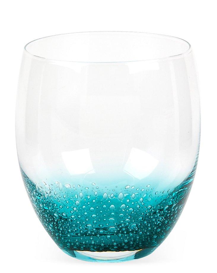 S/4 Nassau DOF Glasses, Aqua